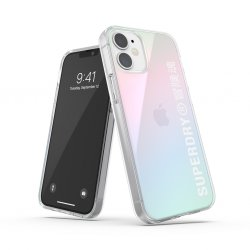 iPhone 12 Mini Suojakuori Snap Case Clear Holographic