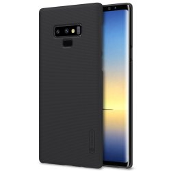 Frosted Shield till Samsung Galaxy Note 9 Suojakuori Musta