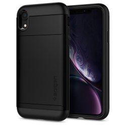 iPhone Xr Skal Slim Armor CS Svart