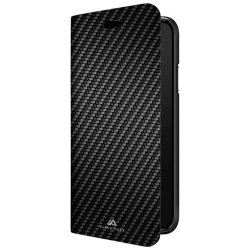 Samsung Galaxy S10 Plus Suojakotelo Flex Carbon Booklet Musta