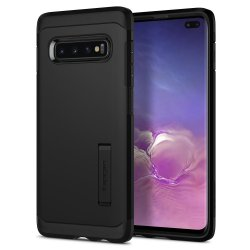 Samsung Galaxy S10 Plus Suojakuori Tough Armor Musta