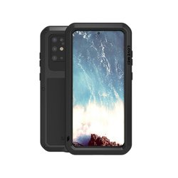 Samsung Galaxy S20 Plus Suojakuori Powerful Case Musta